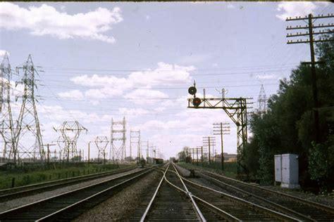 Obico, looking west, Galt Sub. westward track, north ...