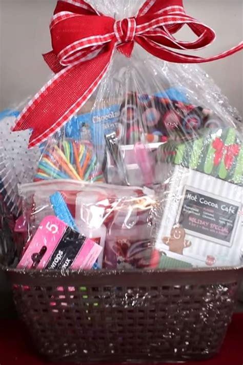 dollar tree christmas gift baskets easy diy dollar