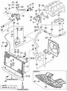2005 Kia Sedona Cooling System