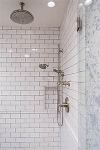 photo page hgtv With designing subway tile shower installation