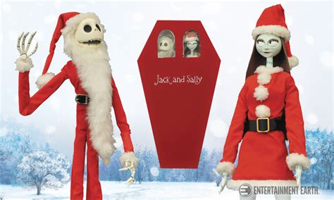 Halloween Coffin Prop by Jack And Sally Are Ready To Fill Mr Sandy Claws Boots