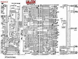 1985 Chevrolet Corvette Wiring Schematic
