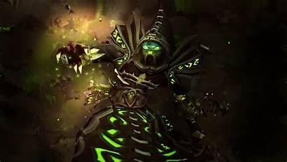 Warcraft Wallpapers Warlock Cave Avante источник Biz