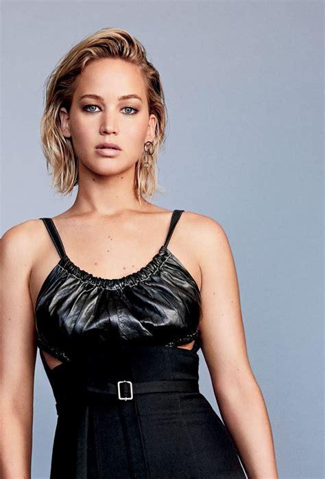 Jennifer Lawrence Glamour Magazine February 2016 Cover