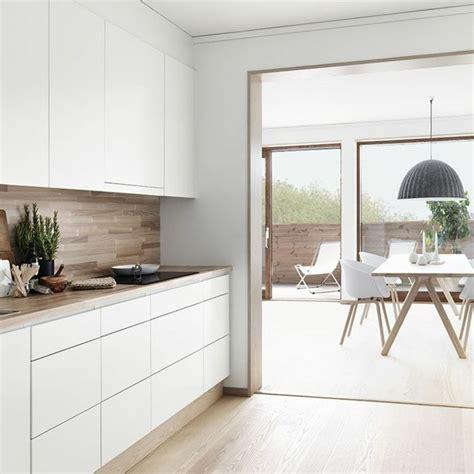 meuble cuisine scandinave comment créer une ambiance scandinave 45 idées en photos