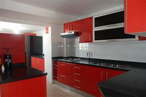kitchen design red and white peenmediacom With kitchen design red and white