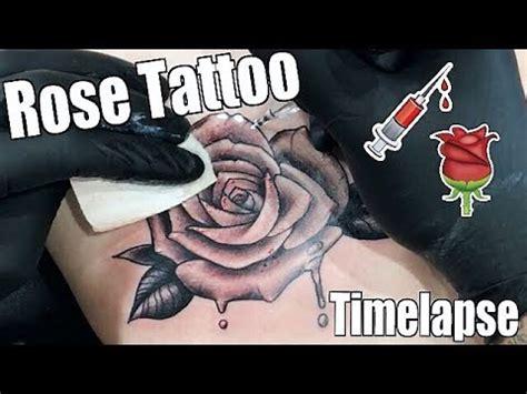 hour tattoo tattoo timelapse romeo lacoste ft