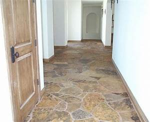 Flagstone paving ideas, outdoors and indoors - Traditional