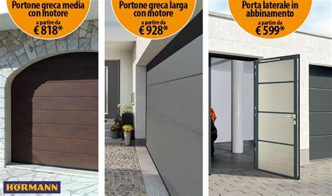 portoni sezionali prezzi promozioni porte garage roma rati
