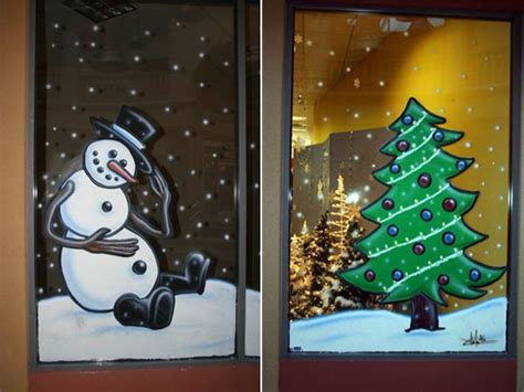 christmas window painting ideas pin by michelle labadie on paintings pinterest
