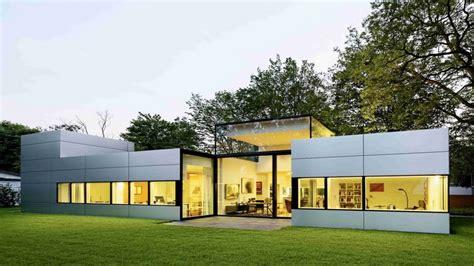 Ecofriendly Single Story Homes Modern Single Story Home