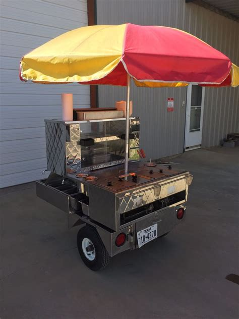 cuisines equip馥s custom mobile food equipment 525 food concession cart w trailer acc 39 s ebay