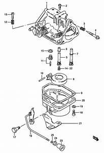 Carburetor For 1991 Suzuki Dt30