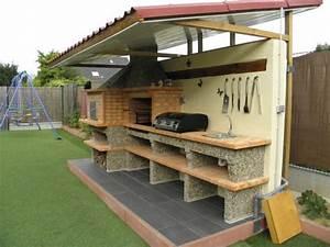 Thermometre Four A Bois : four a pain et barbecue en brique avec vier av358f ~ Dailycaller-alerts.com Idées de Décoration