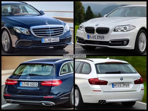image comparison mercedes benz  class estate  bmw