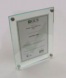 gcs frameless acrylic picture frames certificate perspex With acrylic document frame