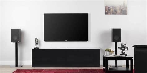 meuble tv sonorous sonorous studio 160t noir meubles tv sur easylounge