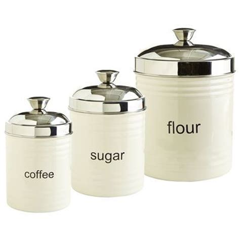 Kitchen Canisters Metal by 1000 Images About Sugar And Flour Canisters For Kitchens