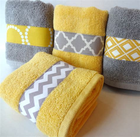 yellow and grey bath towels yellow and grey idealpin