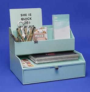 Desk, Organizing, Gets, Pretty
