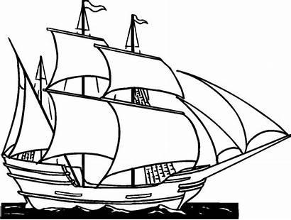 Clipart Boat Mast Ship Sailing Clip Clipground