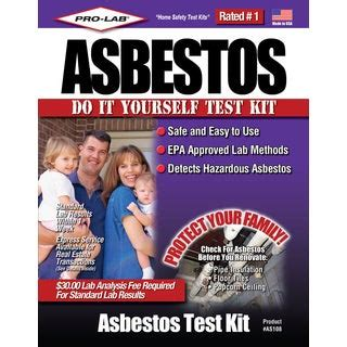 shop pro lab  asbestos    test kit