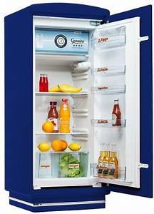Amerikanischer Kühlschrank Retro Design : amerikanischer retro k hlschrank der 50er jahre in blau ~ Sanjose-hotels-ca.com Haus und Dekorationen