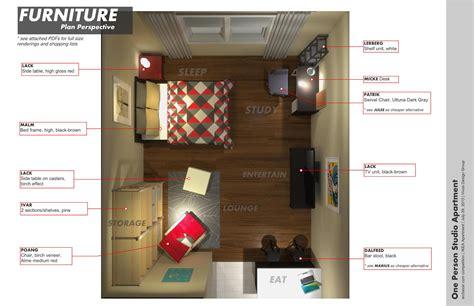mini cuisine studio affordable interior design studio apartment apartment with