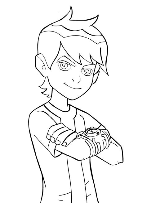 Coloring Pages Ben10 Ben 10 For Kids Waybig Games