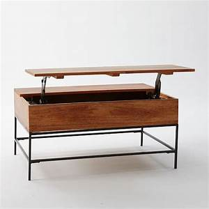 industrial storage coffee table west elm With west elm rustic storage coffee table