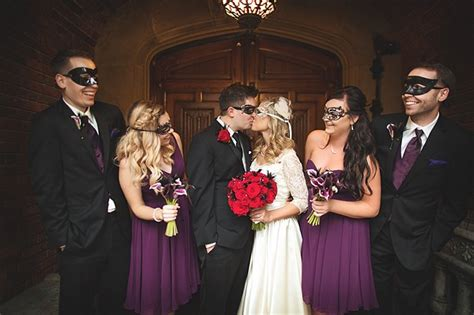 An Ode To Halloween Masquerade Wedding At Thornewood