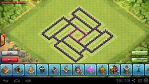 Clash Of Clans Th7 Defense Base  Hybrid Base