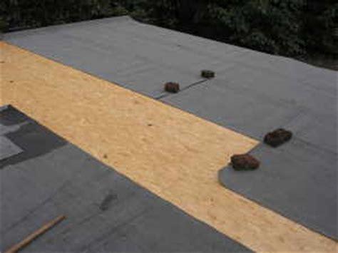 dachpappe richtig verlegen dachpappe f 252 r das carportdach