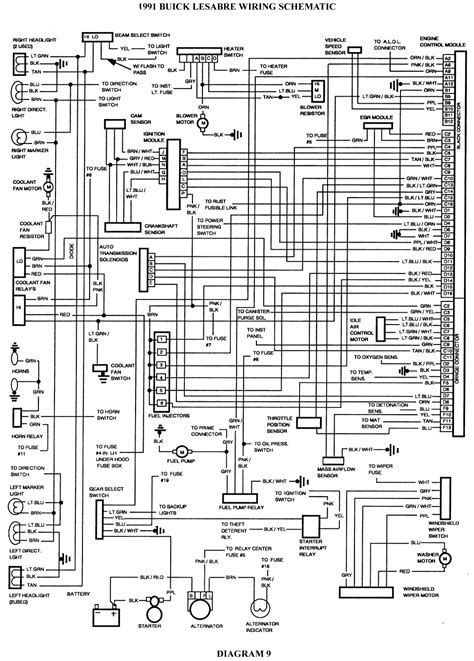 1995 Buick Lesabre Radio Wiring Diagram by 94 Wiring Diagram Wiring Diagram