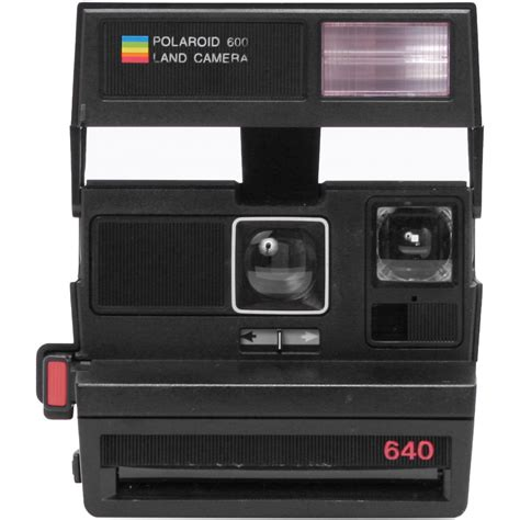 impossible polaroid impossible polaroid 600 square instant black 1488 b h