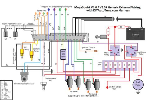 fuel relay with megasquirt conflicting diagrams advanced virtual mechanic