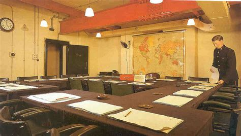 Cabinet War Rooms by Cabinet War Rooms Practical Information Photos And
