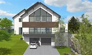 nice maison en pente forte 6 cheap sur un terrain en With maison en pente forte