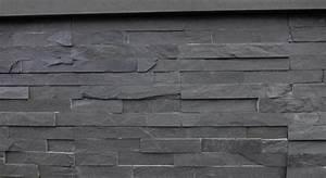 Wandverkleidung Stein Aussen : schiefer riemchen verblender schwarz anthrazit s 0508xz natursteine ~ Frokenaadalensverden.com Haus und Dekorationen