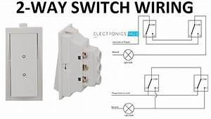 How A 2 Way Switch Wiring Works
