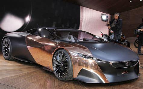 peugeot supercar peugeot onyx supercar 2013 paris motor show motor trend