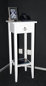 Telefontisch Weiß Hochglanz : beistelltisch wei telefontisch blumentisch blumenhocker 80 holz massiv ~ Markanthonyermac.com Haus und Dekorationen