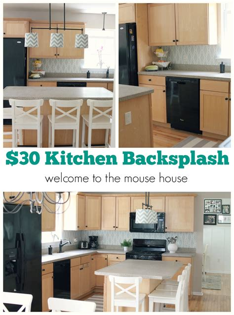 easy kitchen backsplash easy kitchen backsplash 30 target wallpaper welcometothemousehouse com