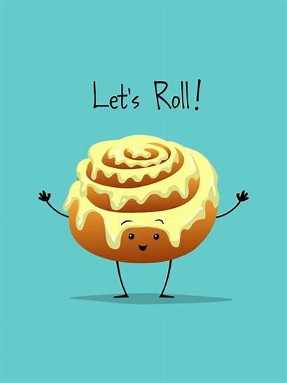 Cinnamon Roll Cartoons Cartoon Funny Puns Let
