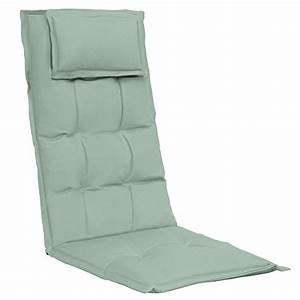 Coussin Pour Chaise De Jardin : coussin confortable avec dossier pour chaise de jardin ~ Dailycaller-alerts.com Idées de Décoration