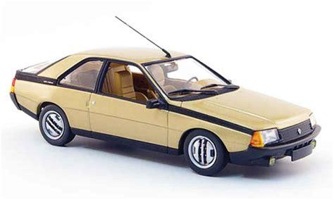 renault fuego black renault fuego or 1983 minichs coches miniaturas 1 43