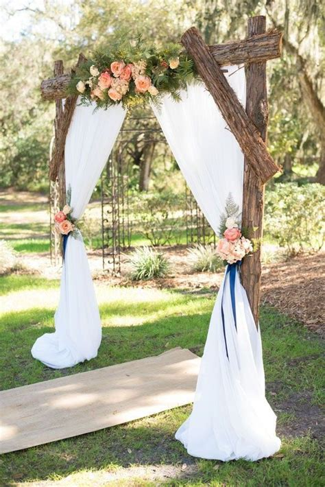 decorated wedding arches beautiful 25 chic and easy rustic