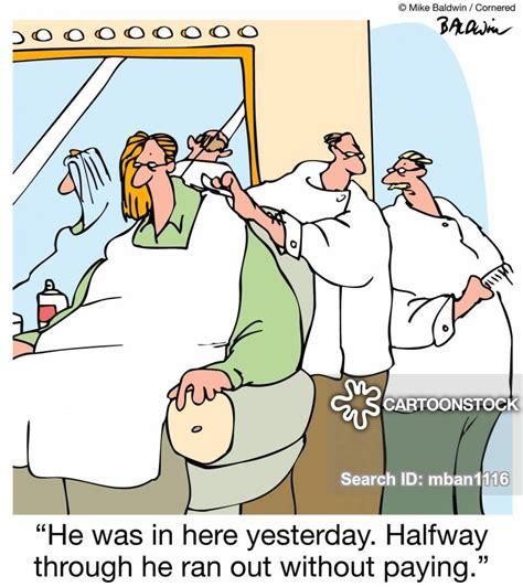 hair salon cartoons  comics funny pictures