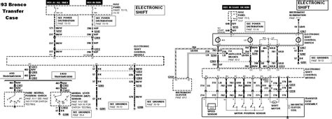 Electrical Wiring Diagram Ford 1996 by 4x4 Won T Engage 80 96 Ford Bronco Tech Support Ford