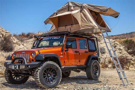 jeep pop up tent trailer smittybilt overlander tent overlander rooftop tent for